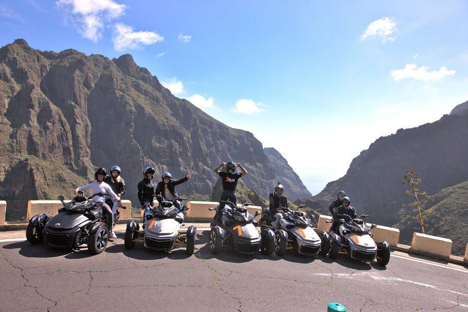 טיול אופנוע בטנריף